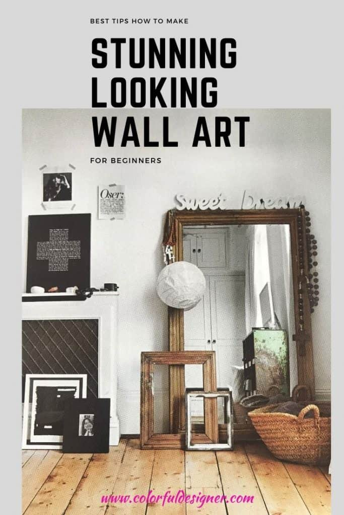 stunning wall art with your own collections.