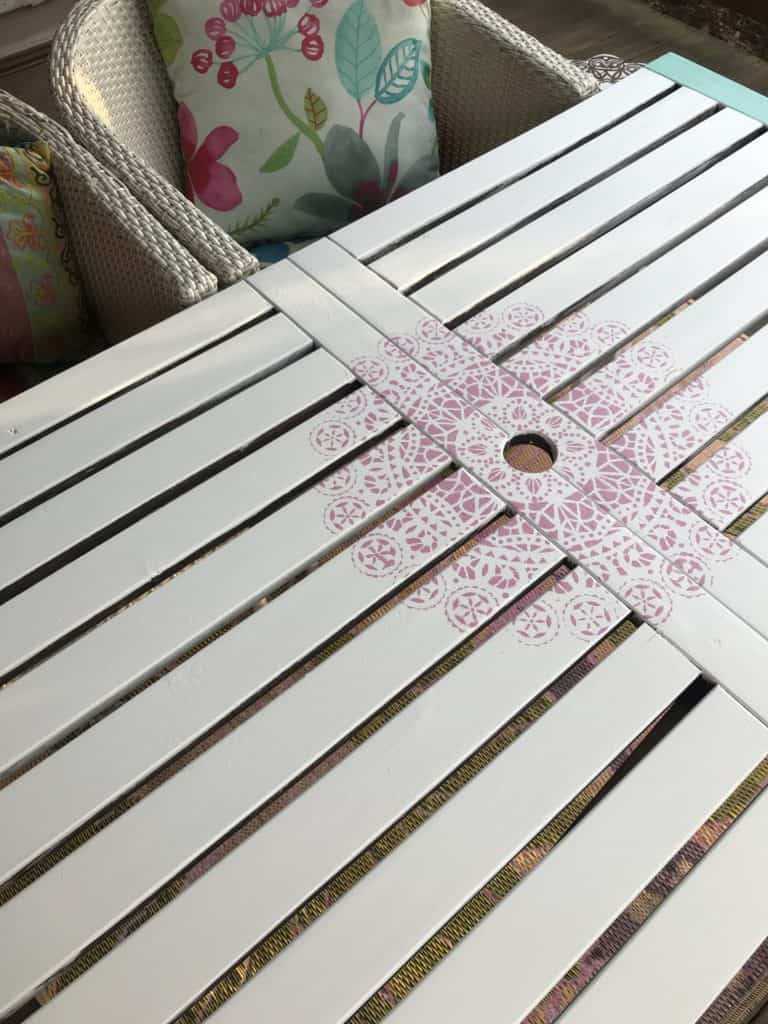 Stencil on Table, The ultimate tips how to easily add stencils on furniture