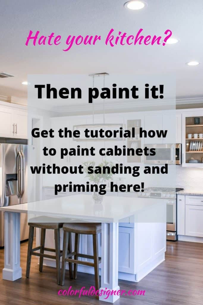 kitchen remodel on a budget. Hate your kitchen? Paint it easy and fast and under $200.