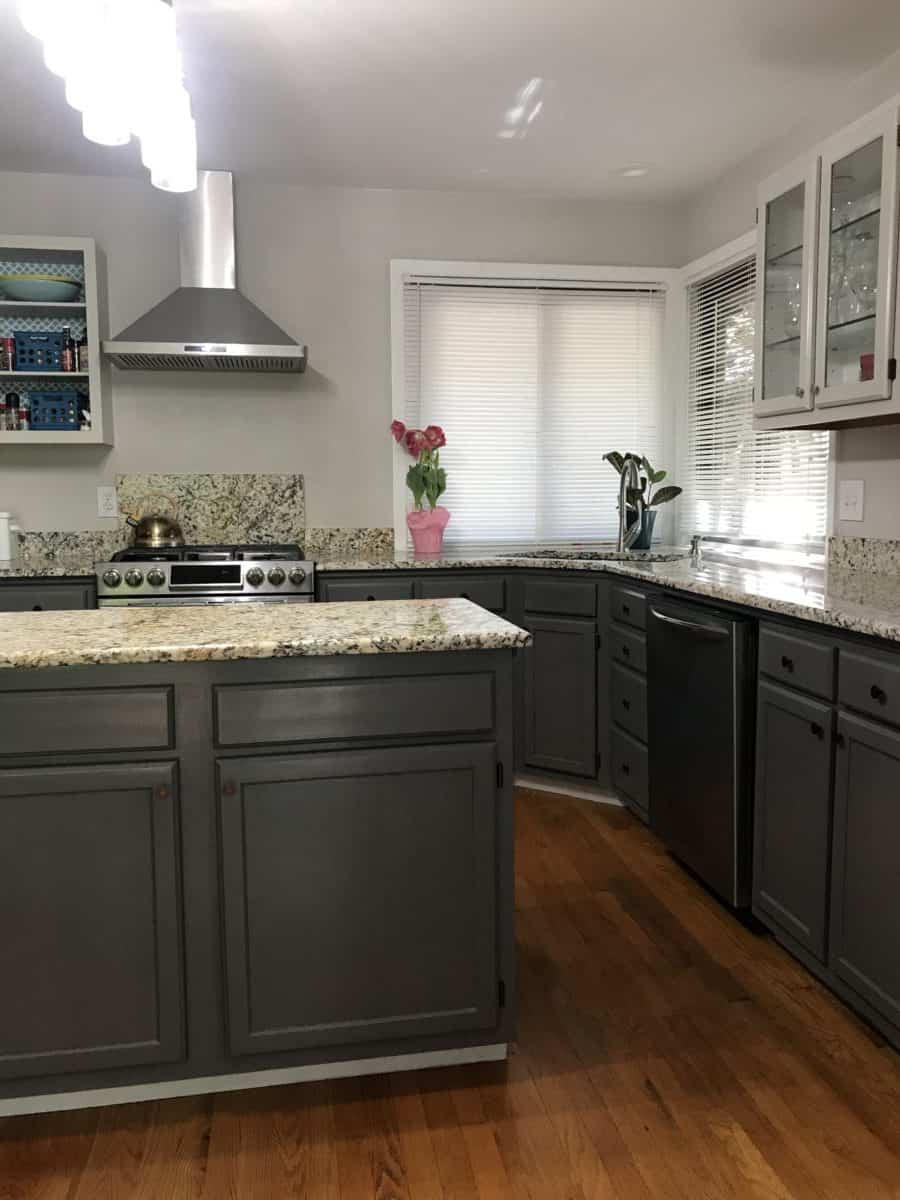 Paint your kitchen cabinets