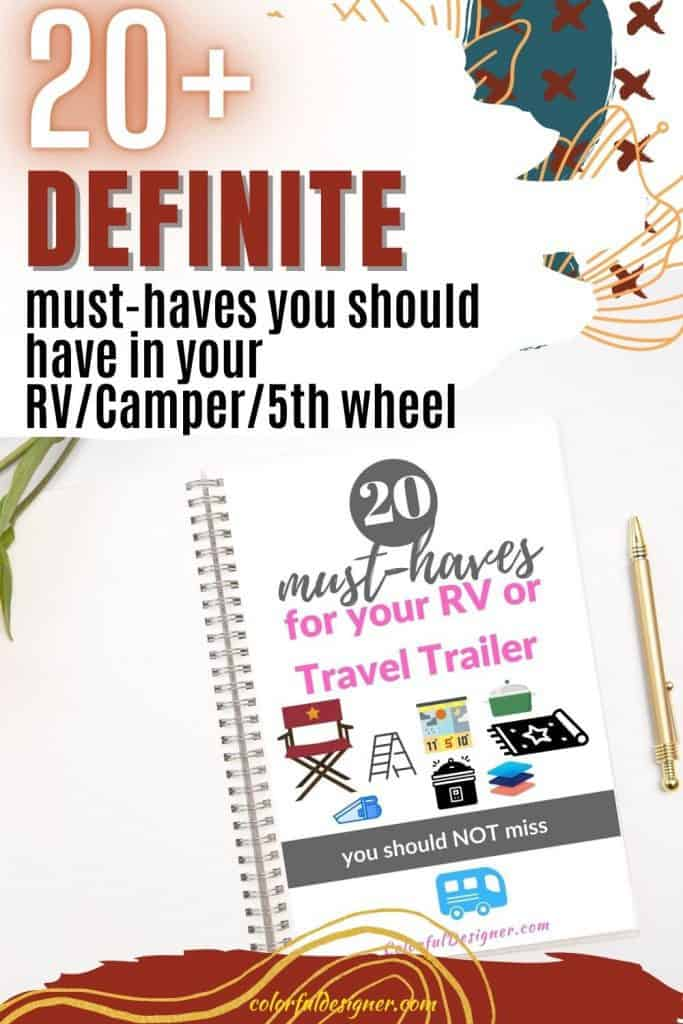 Before you hit the road with your RV/Camper/5th Wheel, get these must-haves to be prepared.