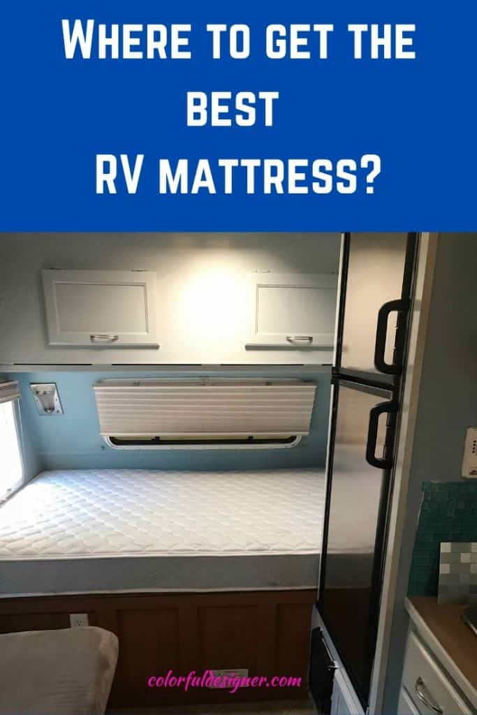 Replace the old mattress in your RV