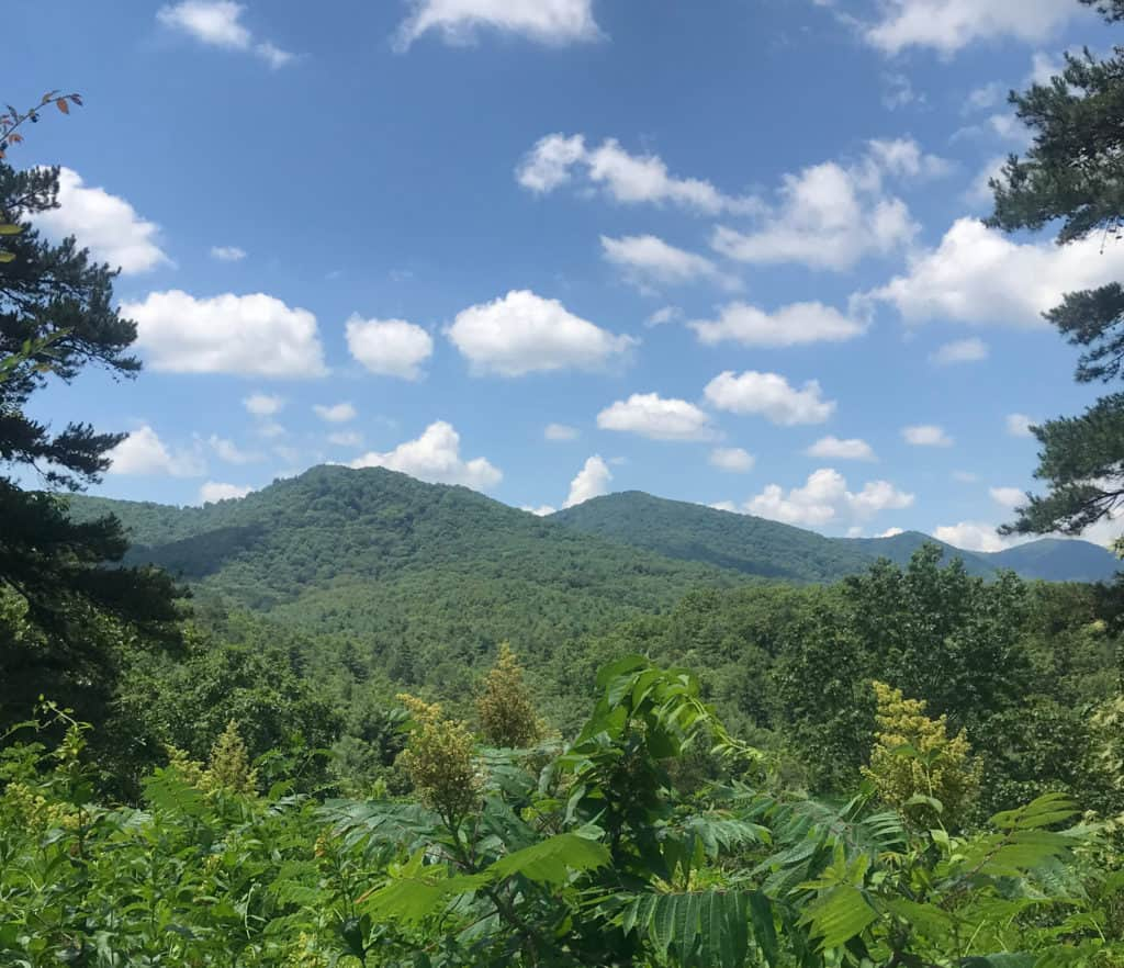Apalachian Mountains Asheville, NC is absolutely stunning. 10 unforgettable RV Trips in the USA (for your Bucket List)