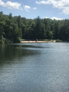 Lake at the Campground Asheville